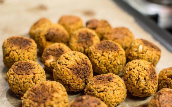 baked veggie balls