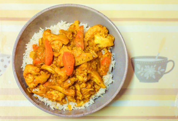 Bowl of curry